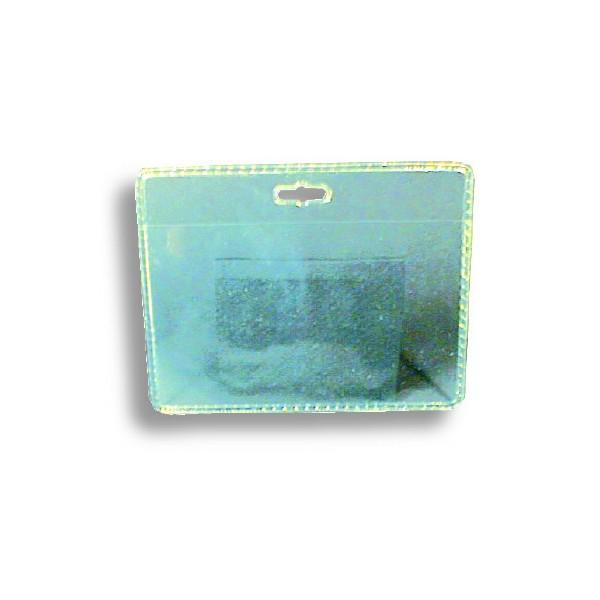 Porte-badge souple perforation oblongue PB-0002-HT (lot de 100) ACPB0002HT