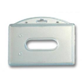 Porte-badge rigide 2 faces PB-2015-H0 (lot de 100) ACPB2015H0