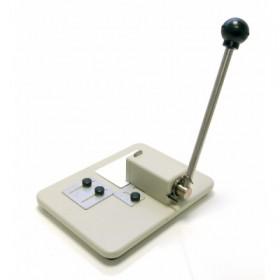 Pince perforatrice à trou Oblong avec guide ACPBP001OBGU