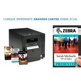 Imprimante badges Grands Formats Zebra ZC10L ZC10L00Q00US00 ZEBRA
