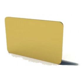 Cartes PVC Couleur Or - Lot de 100 CA17BOR761100