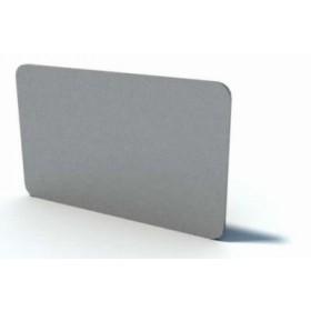 Cartes PVC Couleur Argent - Lot de 100 CA17BARG1100
