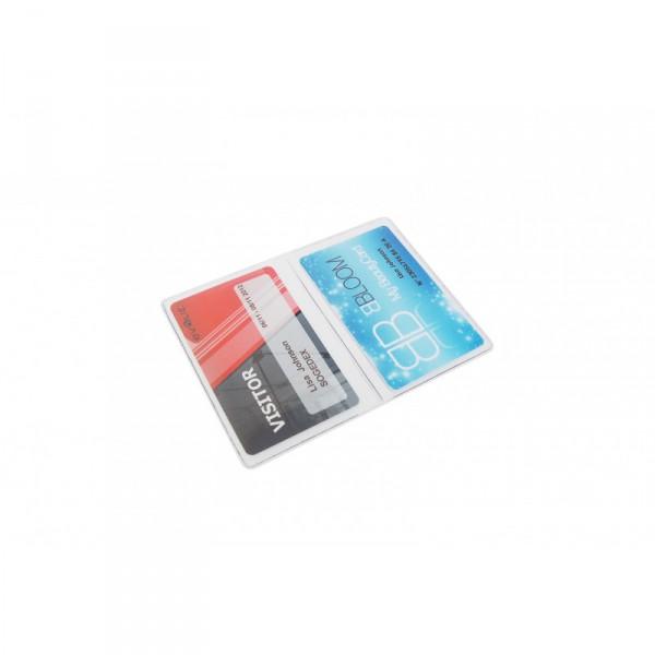 Etui porte-badge souple 2 volets couleur (lot de 100) ACPB00202V#