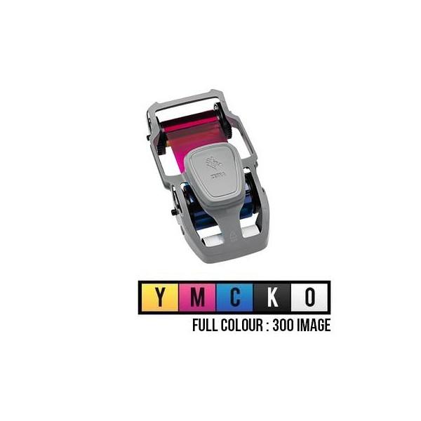 Film couleur YMCKO 200 images pour ZC 100 / ZC 300 800300-350EM ZEBRA